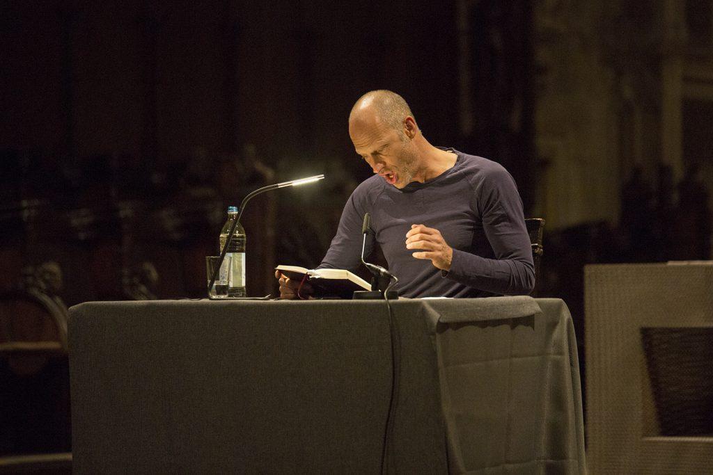 Joachim Meyerhoff beim LesArt.literaturfestival Dortmund