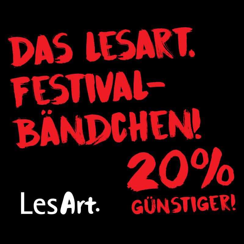 LesArt.Festival-Bändchen