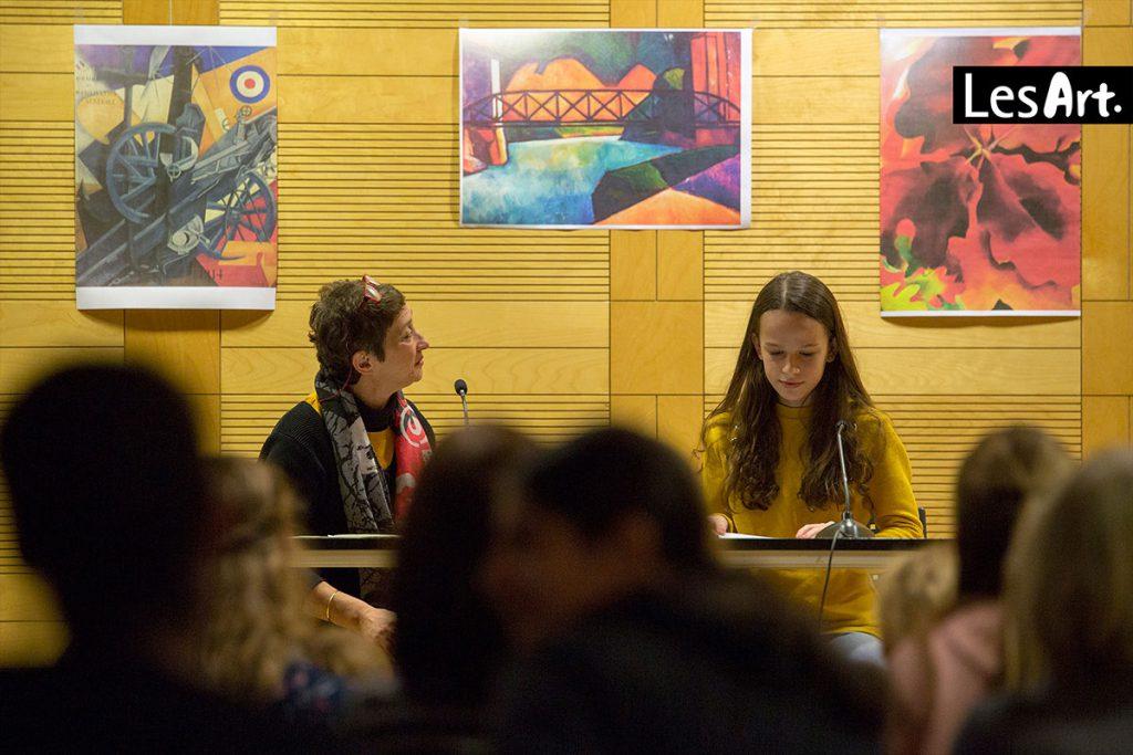 LesArt.2018: Schreibwerkstatt mit Zehra Cirak