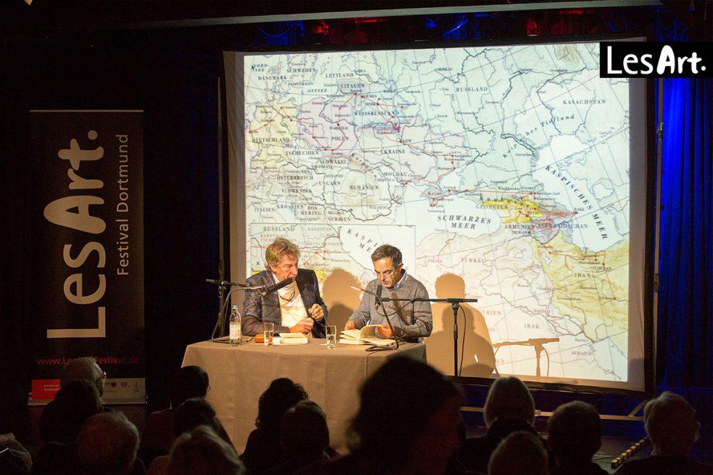 LesArt.2018: Navid Kermani im Gespräch mit Matthias Bongard