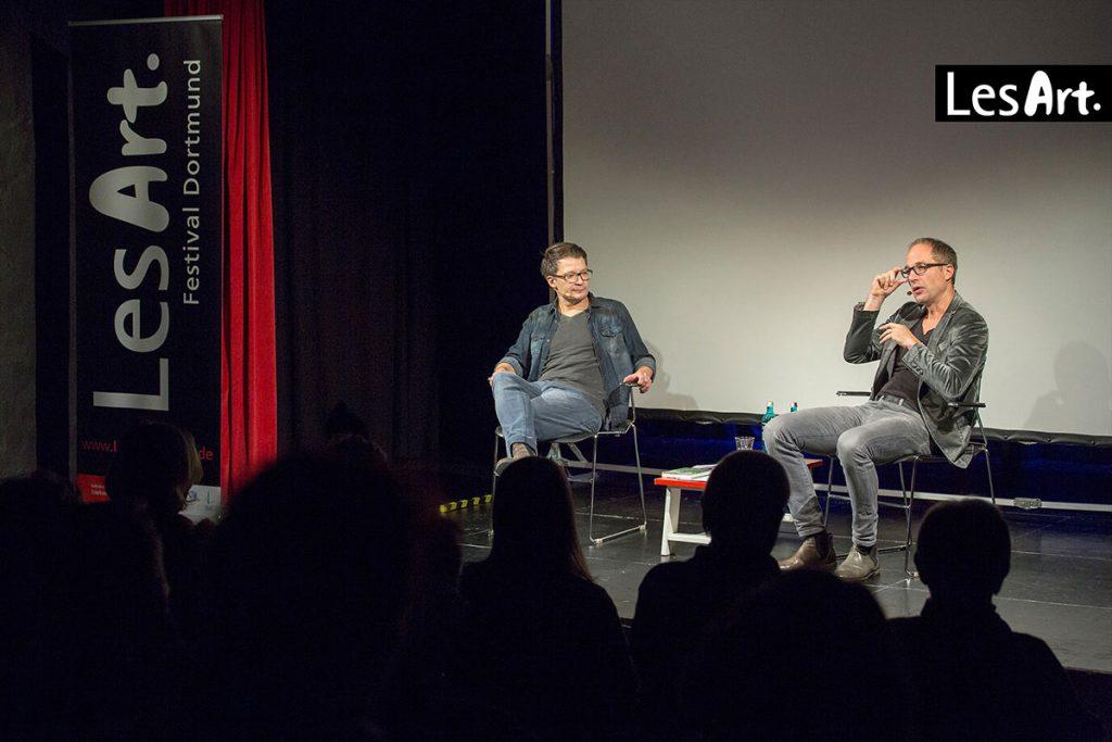 LesArt.2018: Maxim Leo & Jochen Gutsch