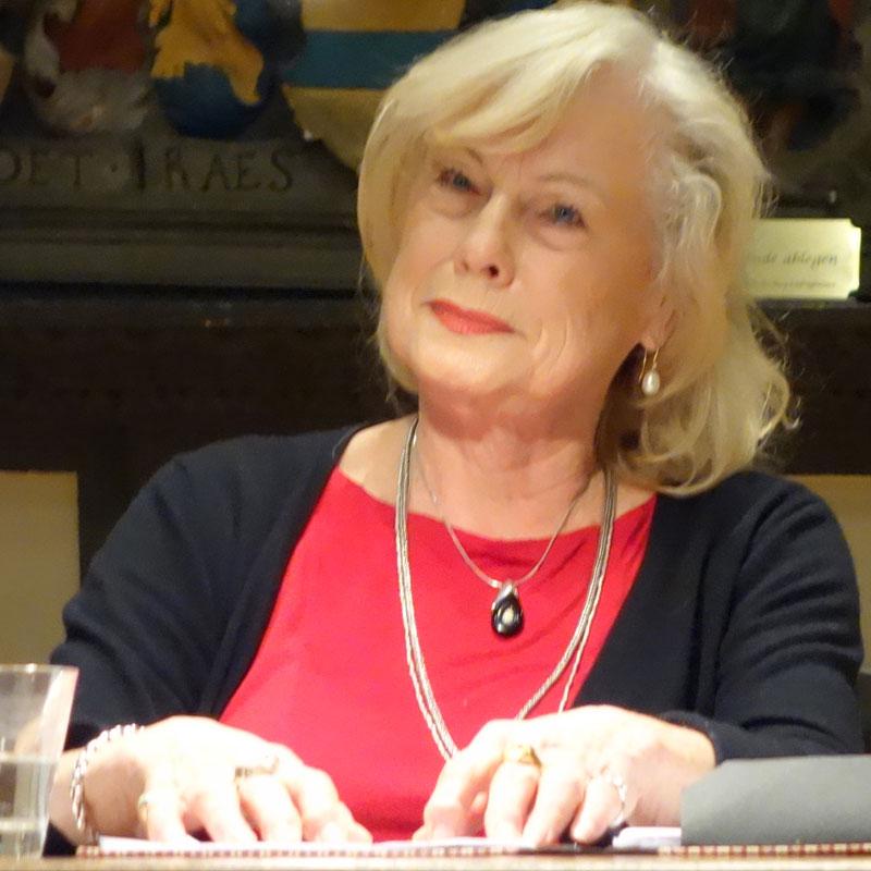Kammerschauspielerin Barbara Blümel